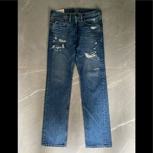 2 for$40 Abercrombie Kids distressed jeans